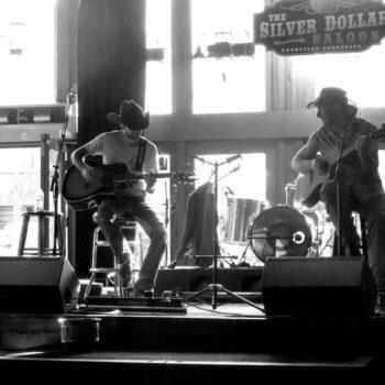 Teoksen nimi: The Silver Dollar Saloon