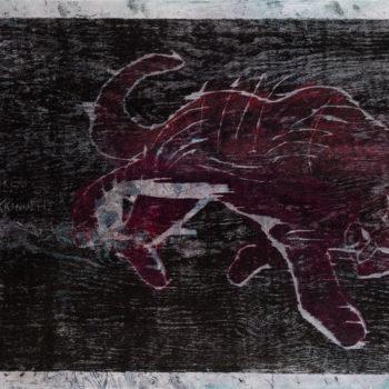 Teoksen nimi: Yöhön jääneitä, tiikerin tassu