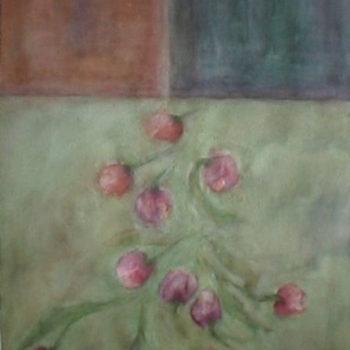 Teoksen nimi: Juhlan aikaan, akvarelli