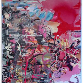 Teoksen nimi: Tuulensuu 2009, 165×140