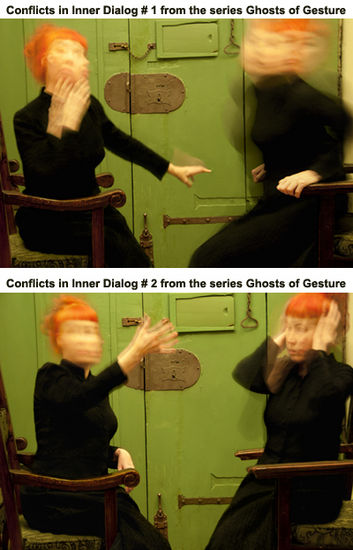 Conflicts in Inner Dialog # 1 & # 2 / Ghosts of Gesture -valokuvasarja