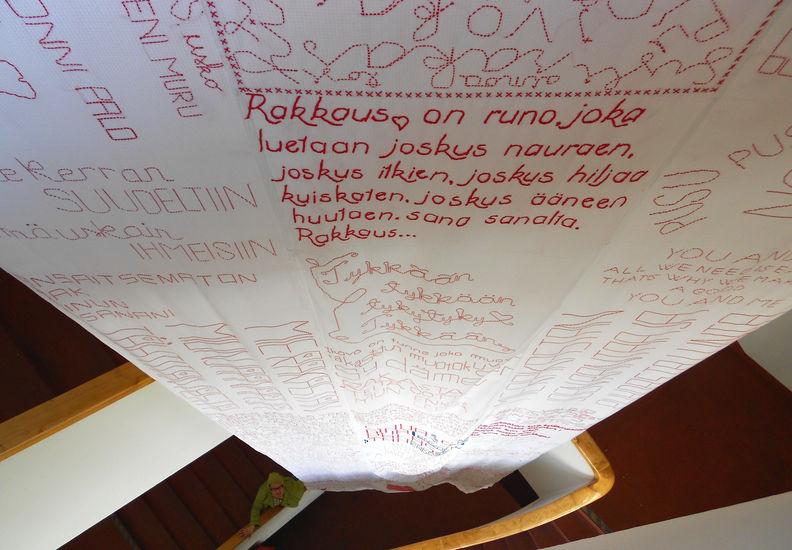 RAKKAUSLAULU 2012 yhteisötaideideteos