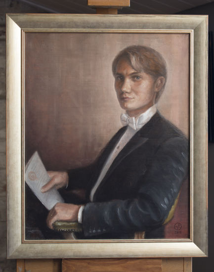 Nuoren tohtorin muotokuva / Portrait of a young doctorate
