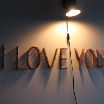 Name of the work: I love you