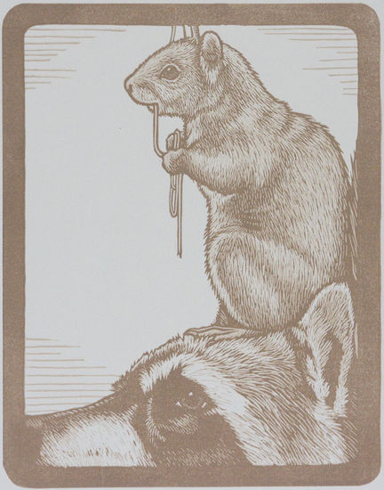Animal Pyramid- Squirrel