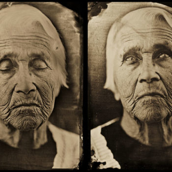 Teoksen nimi: Grandmother, 2011