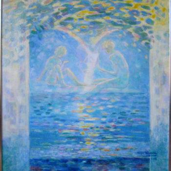 Teoksen nimi: Sinisen rannan lapset