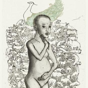 Teoksen nimi: Kantaäiti / Primordial mother