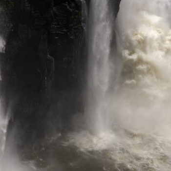 Teoksen nimi: Vesipäiväkirjat, Iguacu 2010