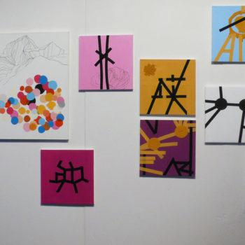 Teoksen nimi: installationview from Supermarket Art Fair, 2011 in Stockholm,Sweden