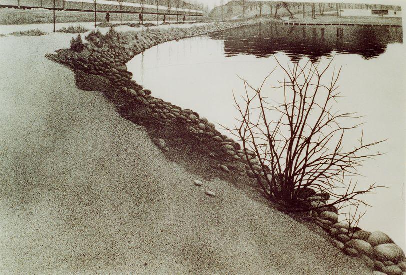 Kaisaniemen rantaa 1979