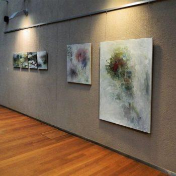 Teoksen nimi: Näyttelykuva Arabianrannan kirjasto 2013