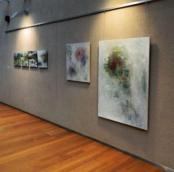 Näyttelykuva Arabianrannan kirjasto 2013