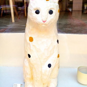 Name of the work: Japanese cat (Mike neko)