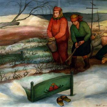 Teoksen nimi: Jäätävä polte, 1992