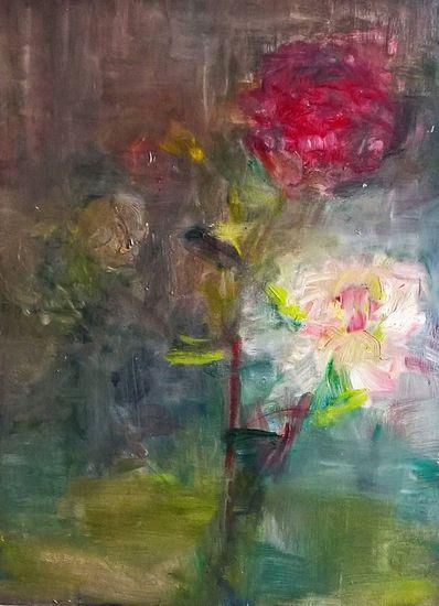 Rose in vaso
