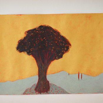 Teoksen nimi: Toscanan puu  2005