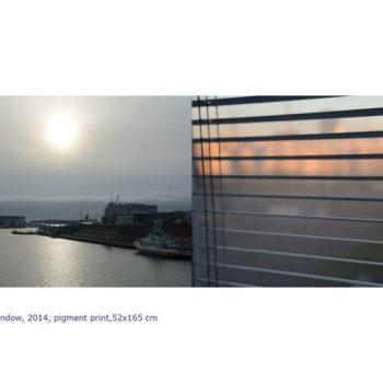 Teoksen nimi: Ikkuna, 2014