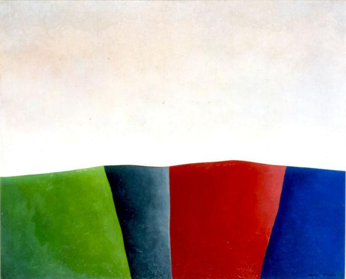 Värikäs maisema