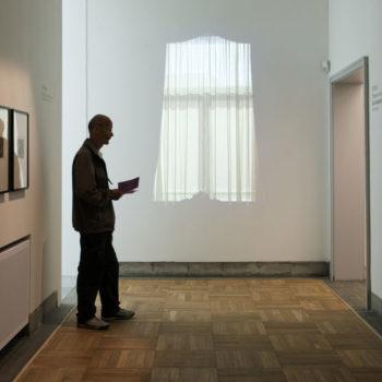 Teoksen nimi: Ikkunat -videoinstallaatio, Trondheimin taidemuseo 2012