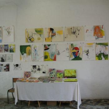 Teoksen nimi: yksityisnäyttely, Le Grage L. Ranska 2013