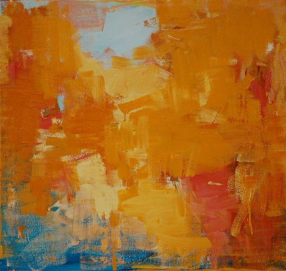 Maalaus, 75x80cm, öljy kankaalle, 2011