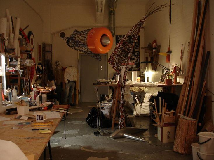 Työhuoneeni,                                  My Studio