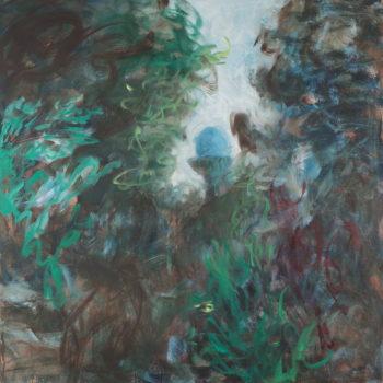 Teoksen nimi: Tiikerikissan puutarha I / The Leopard´s garden I