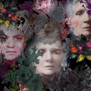 Teoksen nimi: Kuoleman kukkia / Flowers od Death I