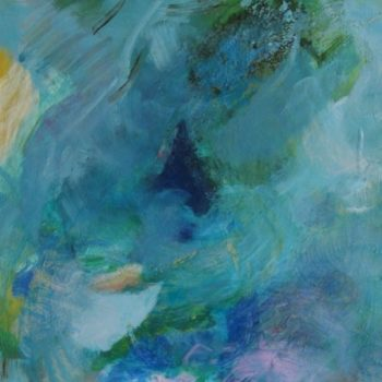 Teoksen nimi: Fresh Wind, 2010 acrylic, binder and pigment on canvas 61x50cm