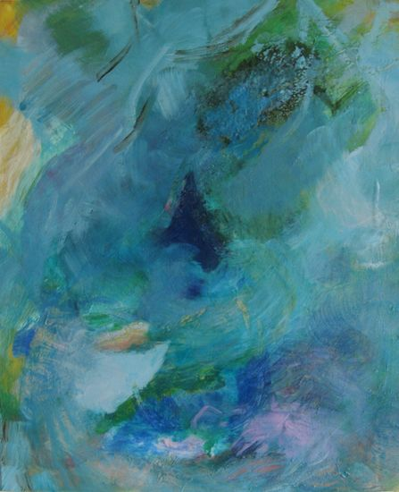 Fresh Wind, 2010 acrylic, binder and pigment on canvas 61x50cm