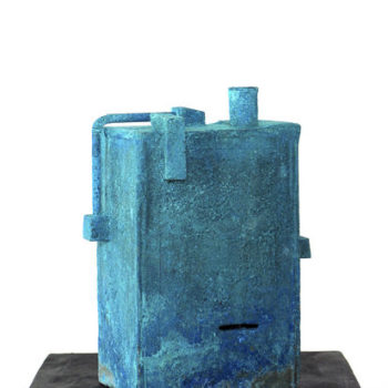Teoksen nimi: Sininen tehdas