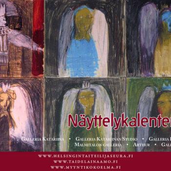Teoksen nimi: Näyttelykalenteri/ Galleria Katariina 2014