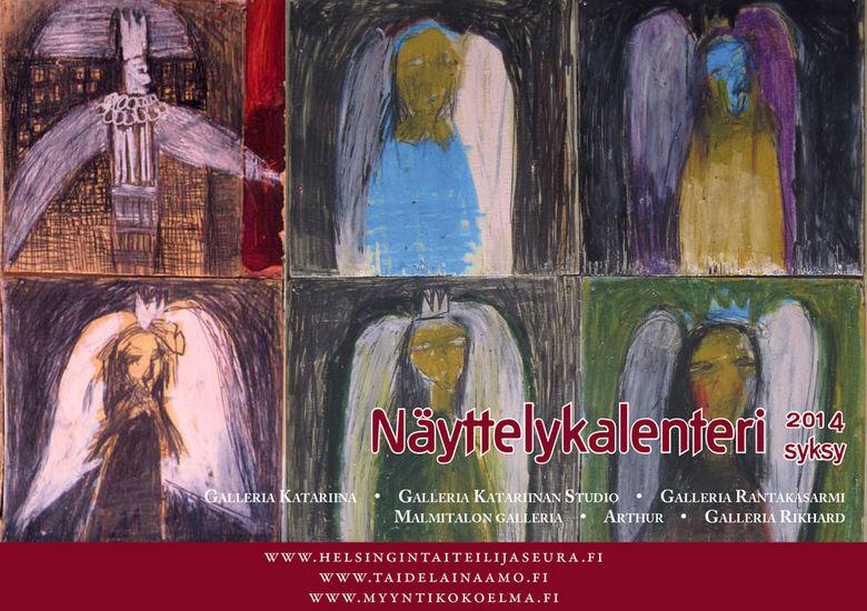 Näyttelykalenteri/ Galleria Katariina 2014