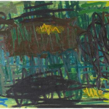 Teoksen nimi: Sub, 2006, öljy kankaalle, 130×215