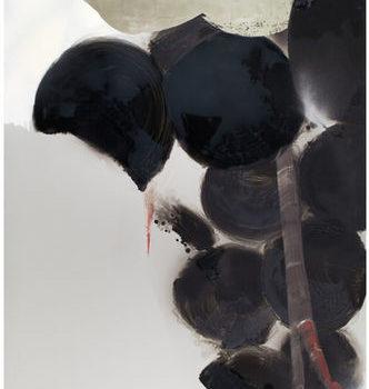 Teoksen nimi: Valoisampi kuin pilvi jonka läpi aurinko paistaa III, 2009