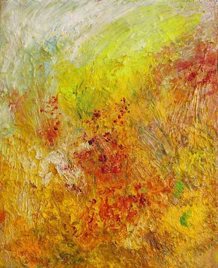 Yellow Sunrise, 2007 33X27 oil on canvas