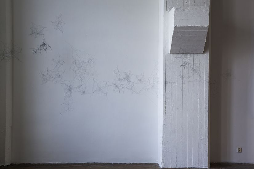 osa installaatiosta ALKU  / Detail of the installation BEGINNING