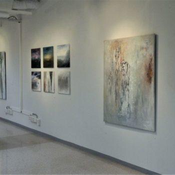 Teoksen nimi: Näyttelykuva / Matkalla maisemassa, Galleria 3K 2012