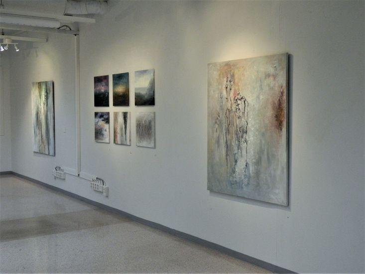 Näyttelykuva / Matkalla maisemassa, Galleria 3K 2012