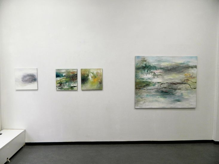 Näyttelykuva Galleria Uusi Kipinä 2013