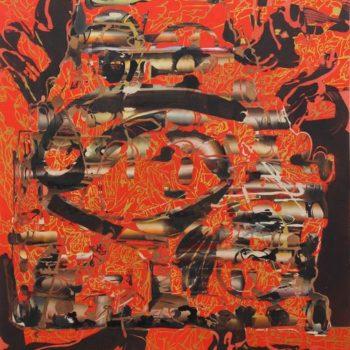 Teoksen nimi: 2012,183 x 170 cm,akryyli kankaalle