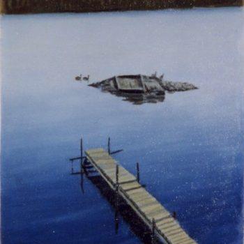 Teoksen nimi: Vaherman järvi 1998