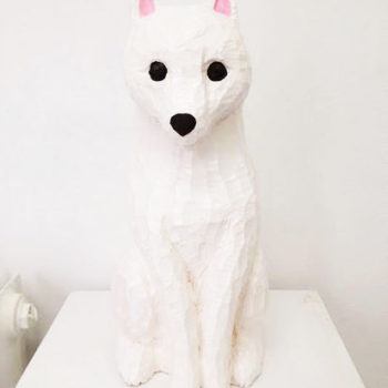 Name of the work: White fox