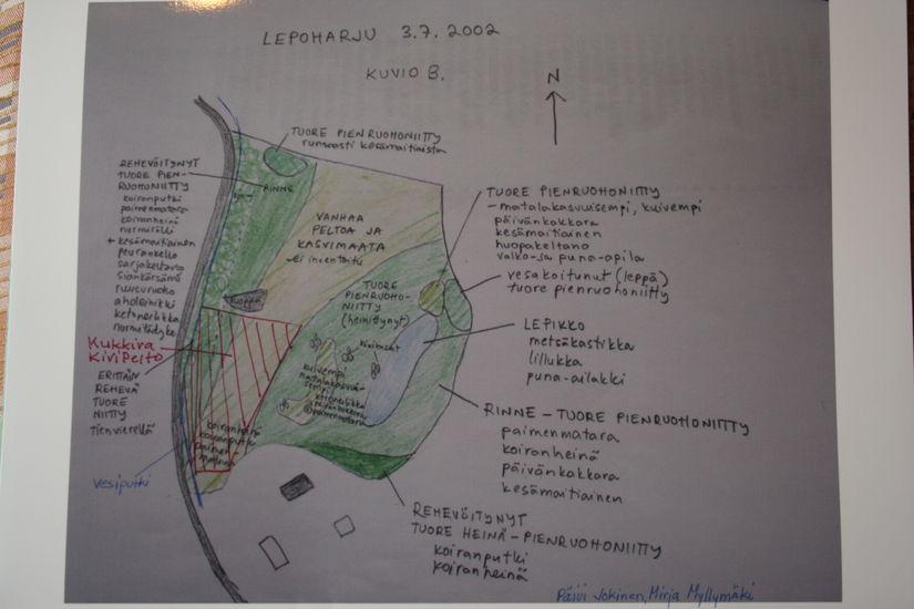Kukkivan KiviPellon alue/ The area of Blooming Stone Field