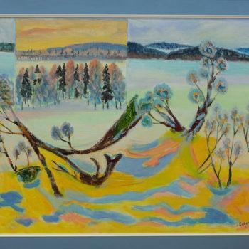 Name of the work: Talvenkukkia 2009
