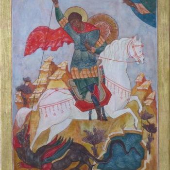 Teoksen nimi: Pyhä Georgias Voittaja