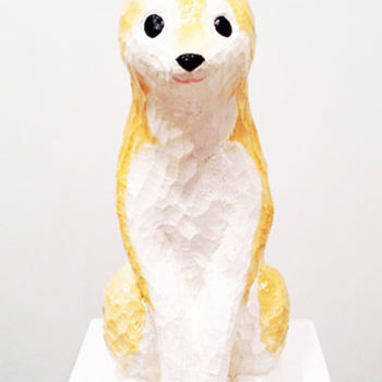 Name of the work: Japanese dog