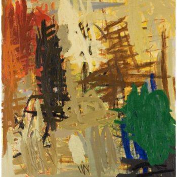 Teoksen nimi: Tämä maalaus, 2007, öljy kankaalle, 126×110, Rovaniemen taidemuseo/Jenny ja Antti vihurin rahasto