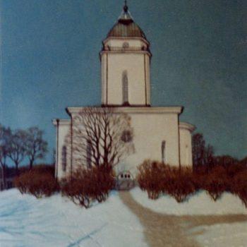 Teoksen nimi: Suomenlinnan kirkko 2000